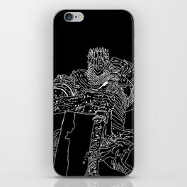 Yorm the reclusive Giant lord iPhone Skin