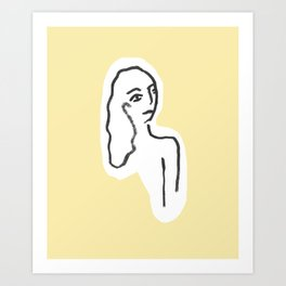 Honey Pie Art Print