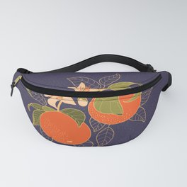 Orange Branch Fanny Pack
