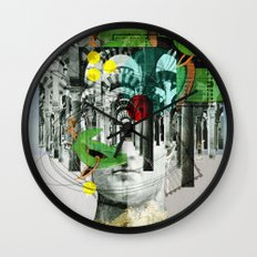 It´s all in your mind · Statue 3x Wall Clock