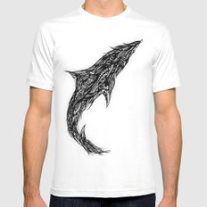 Fluid Mens Fitted Tee MEDIUM White