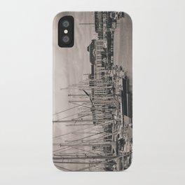 Casino at the harbor iPhone Case