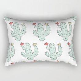 Cactus party print Rectangular Pillow