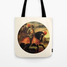 Dog Cavaliere Tote Bag
