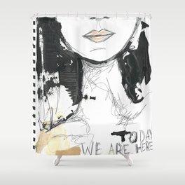 2014 Sketch Book Series #001 Shower Curtain