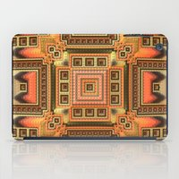 blanket iPad Cases featuring Cozy Blanket by Lyle Hatch