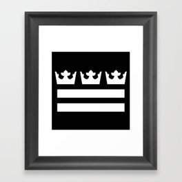Swedish Columbia Logo (Classic) Framed Art Print