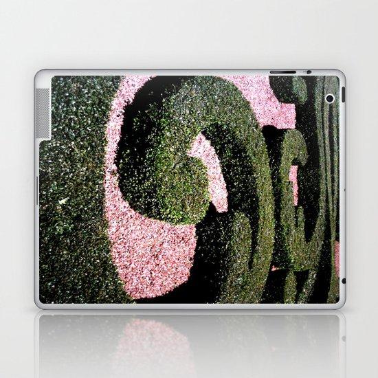 """Nel giardino dei pensieri (Paris) """"GEOROMANTIC"""" series Laptop & iPad Skin"""
