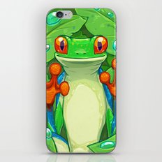 Frankie the Frog iPhone Skin