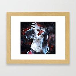 Uta Ghoul Framed Art Print