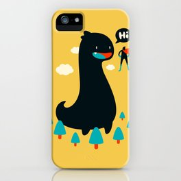 Safe from Harm iPhone Case
