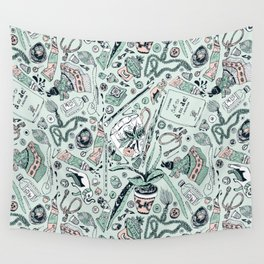 Found Objects Wall Tapestry