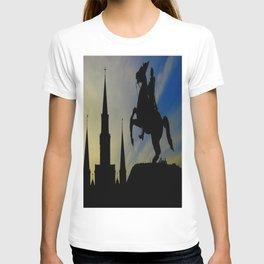 Landmark Silhouettes in Casa de Armas T-shirt