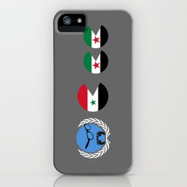 United Nations is watching Syria iPhone Case