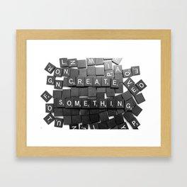 Anything Please Framed Art Print