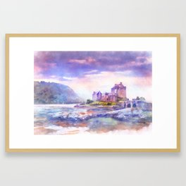 Eilean Donan Castle. Framed Art Print