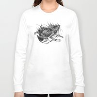 frog Long Sleeve T-shirts featuring frog by Gemma Tegelaers