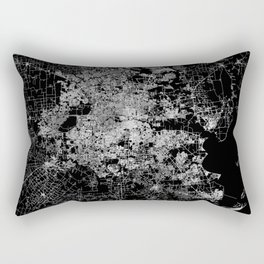 Houston map Rectangular Pillow