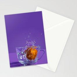 Orange Splash Stationery Cards