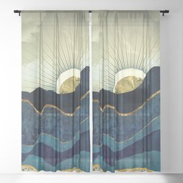 Post Eclipse Sheer Curtain