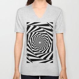 Optical Illusion Unisex V-Neck