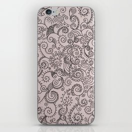 Absentminded iPhone Skin