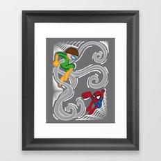 FUN - Spiderman Framed Art Print