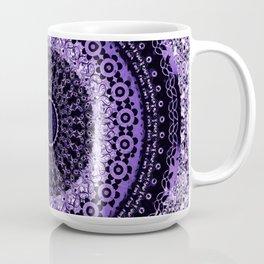 Purple Tapestry Mandala Coffee Mug