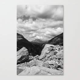 Frank slide Canvas Print