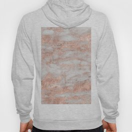 Martino rose gold marble Hoody