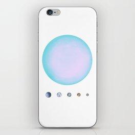 Uranus & Moons iPhone Skin