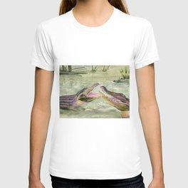 Alligator Study  T-shirt
