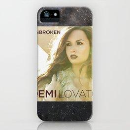 Demilovato Unbroken iPhone Case