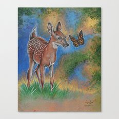 Bambi Butterfly Canvas Print