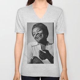 Maya Angelou - Black Culture - Black History Unisex V-Neck