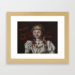 Annabelle | Drawing Framed Art Print