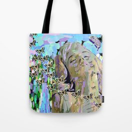 Devastated By Love Tote Bag