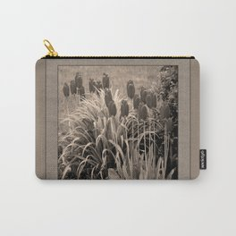 old timey tulips (square) Carry-All Pouch