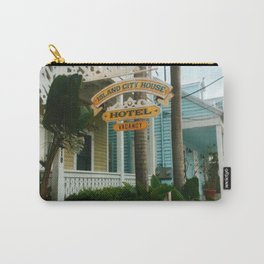 The colorful streets of Key West Carry-All Pouch