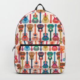 Hawaiian ukulele Backpack