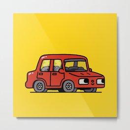 Car Metal Print