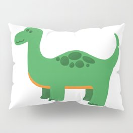 Green Dino Pillow Sham