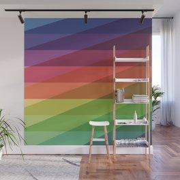 Fig. 040 Rainbow Stripes Wall Mural