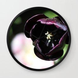 Tulip Shadow Wall Clock