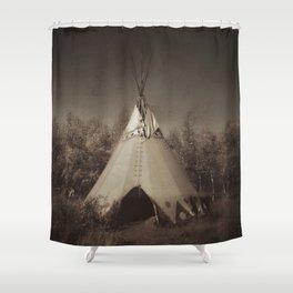 Teepee Shower Curtain