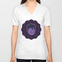 harry V-neck T-shirts featuring Harry by Kuki