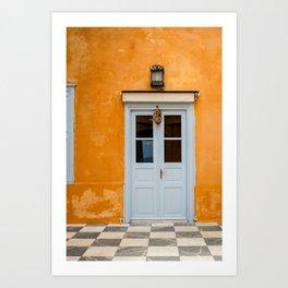 The Way to Greece  Art Print