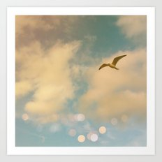 The Lost Gull Art Print