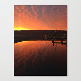 Spring Sunrise on Seneca Canvas Print