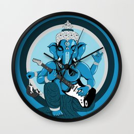 Ganesha rocks ! (v1) Wall Clock